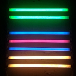 Phosphors for colour fluorescent lamps
